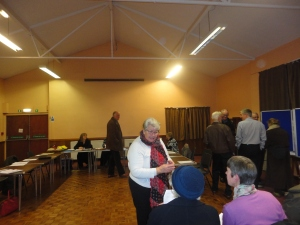 Well Attended Aughton Parish Meeting