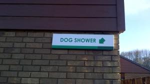 dogshower