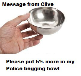 This image has an empty alt attribute; its file name is clivebeggingbowl.png