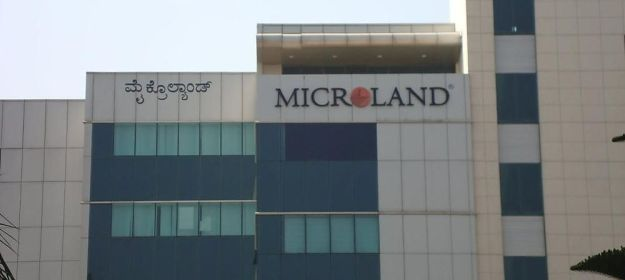 This image has an empty alt attribute; its file name is microland-main-office.jpg